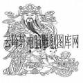 中国传统神话人物仙人-白描图-财神-中国传统神话人物仙人白描图