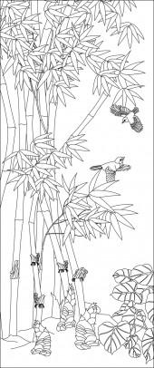 竖板34,翠竹