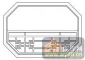 镂空装饰组合式-古典窗棂-镂空装饰组合式-024-镂空雕花板