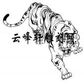 虎2-矢量图-虎步龙行-51-虎全图