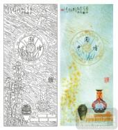 2011设计艺术玻璃刻绘-中国情-玻璃门