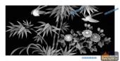 03-竹叶-099-花鸟浮雕图库