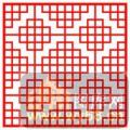 镂空装饰单式001-山纹-镂空装饰单式001-007-镂空隔断效果图