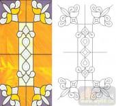 06欧式装饰系列样图-艺术花纹-00005-玻璃门