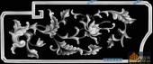 宝座002-艺术花藤-001-宝座浮雕图库