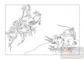 03动物系列-兔成双-00014-玻璃门
