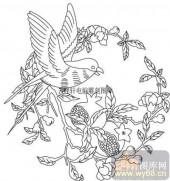 100个中国传统吉祥图-矢量图-多子多孙-B-036-中国图片