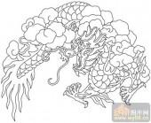 龙-矢量图-生龙活虎-long151-矢量龙图