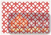 镂空装饰单式002-小花朵花纹-镂空装饰单式002-038-玄关柜