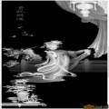 人物 女 贵妃-灰度图库素材