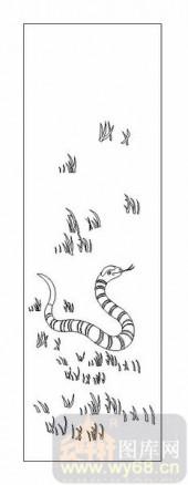 03动物系列-龙蛇飞舞-00075-玻璃门