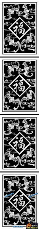 02-四季福-017-蝙蝠鱼灰度图
