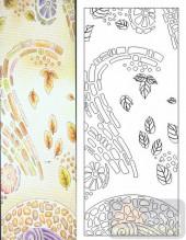 05肌理雕刻系列样图-叶子-00032-装饰玻璃
