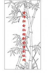 梅兰竹菊-矢量图-竹子-mlxj168-矢量梅兰竹菊