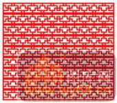 镂空装饰单式002-饰纹-镂空装饰单式002-033-中式花纹