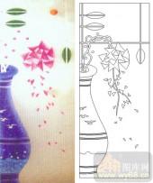 05肌理雕刻系列样图-花瓶-00080-雕刻玻璃