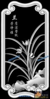 04-兰-016-花鸟灰度图