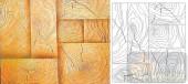 04肌理雕刻系列样图-年轮-00226-艺术玻璃