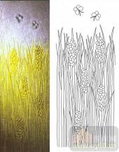 05肌理雕刻系列样图-麦穗-00009-艺术玻璃图库