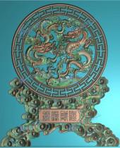 精品双龙戏珠挂匾图6个