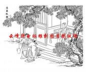二十四孝-矢量图-15涌泉跃鲤-中国传统二十四孝图