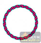 122种圆形边框矢量-齿轮-120种圆形边框矢量-006-镂空雕花板效果图