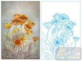 2011设计艺术玻璃刻绘-阿芬达之花-玻璃雕刻