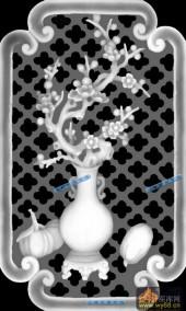04-腊梅-070-花鸟灰度图