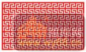 镂空装饰单式002-山形花纹-镂空装饰单式002-044-装修效果图