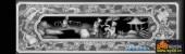 百子图001-百子顶箱柜-顶箱柜5-百子图浮雕灰度图