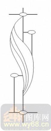 雕刻玻璃图案-11门窗组合-几何图形-00021