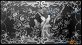 03-花开富贵-007-花鸟浮雕灰度图