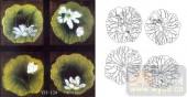 玻璃门-肌理雕刻系列1-睡莲-00124