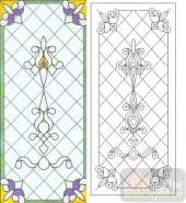 06欧式装饰系列样图-花纹-00011-艺术玻璃图库