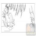 03动物系列-放牛-00034-喷砂玻璃图库
