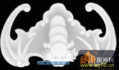 蝙蝠鱼-蝙蝠-037-蝙蝠鱼精雕灰度图