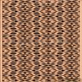 四簇云纹草龙床-浮雕雕刻图案