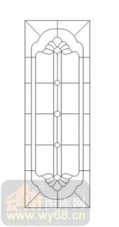 艺术玻璃图-12镶嵌-优美花纹-00025