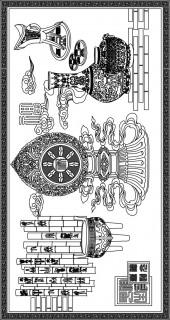方版86,中式背景