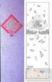 雕刻玻璃-肌理雕刻系列1-招财进宝-00158
