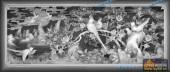03-百鸟-018-花鸟浮雕灰度图