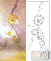 05肌理雕刻系列样图-蜗牛-00092-雕刻玻璃图案