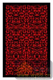 镂空装饰组合式-红色花藤-镂空装饰组合式-045-镂空雕刻