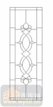 艺术玻璃图-12镶嵌-几何花纹-00022