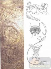 05肌理雕刻系列样图-鼎-00164-艺术玻璃图库
