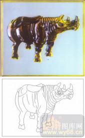 04肌理雕刻系列样图-瓷牛-00220-喷砂玻璃图库