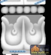 宝座004-花纹-003-宝座灰度图案