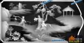 百子图002-出游-1-浮雕灰度图