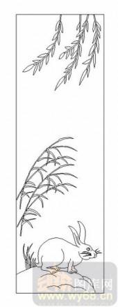 03动物系列-眺望-00006-喷砂玻璃