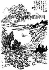 09年3月1日第一版画山水-矢量图-山眉水眼-35-山水全图